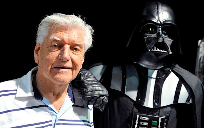 David Prowse at a Star Wars convention in 2013 -  THIERRY ZOCCOLAN/ AFP