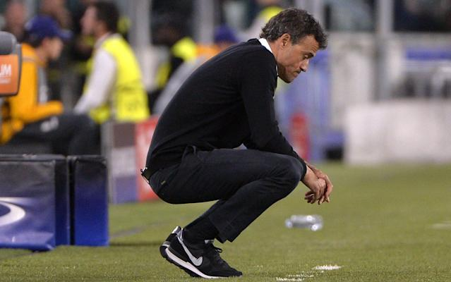 <span>Luis Enrique will leave Barcelona at the end of the season</span>