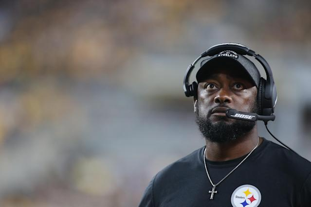 Even if they decided it was time to part ways, the Steelers certainly wouldn't send Mike Tomlin to the coaching purgatory of the Washington Redskins. (Reuters)