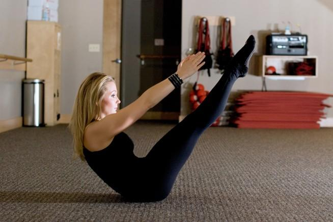 Pure Barre Roll-Ups