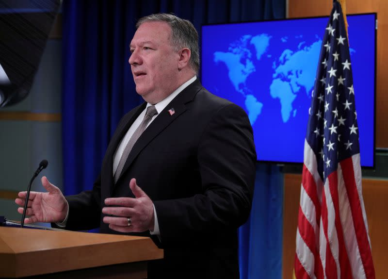 Pompeo says U.S. to have decisions soon on Chinese technology firms, apps