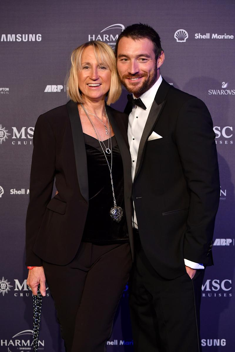 Carol McGiffin and Mark Cassidy attends the MSC Bellisima Naming Ceremony on March 02, 2019 in Southampton, England. (Photo by Anthony Devlin/Getty Images for MSC Bellissima)