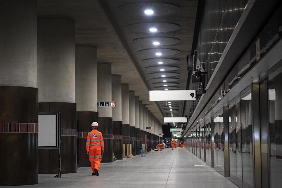 <p>Crossrail has been beset by delays</p> (PA)