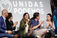 <p>Personas como Irene Montero, Ione Belarra o Pablo Echenique forman parte ahora del núcleo más cercano a Iglesias. (Photo by Europa Press News/Europa Press via Getty Images)</p>