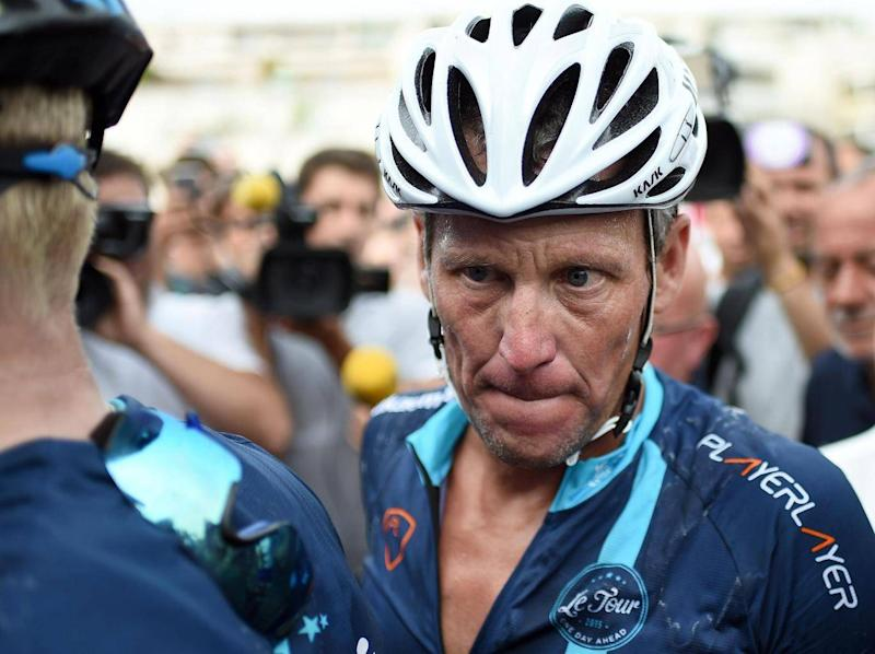 Lance Armstrong was stripped of his seven Tours de France (AFP/Getty Images)