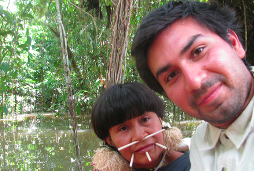 David Good y Yarima, su madre Yanomami en la selva venezolana.(Captura de pantalla The Good Project)