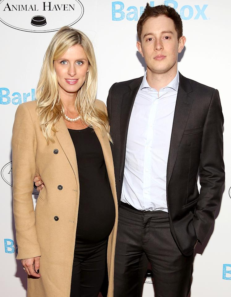 """<p>There's a new hotel heiress in town. Nicky Hilton gave birth to a baby girl, Lily Grace Victoria, in New York City. This is the first child for Nicky and her British banking heir husband, James Rothschild. <a rel=""""nofollow"""" href=""""<a href="""