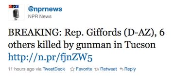 NPR faces scrutiny over Giffords report