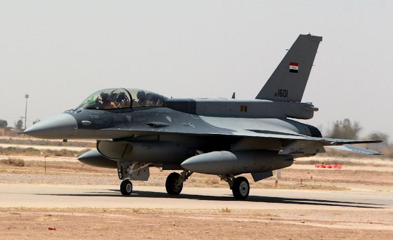 The first four Iraqi F-16s arrived from the United States in mid-July