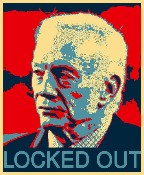 Jerry Jones Obama poster