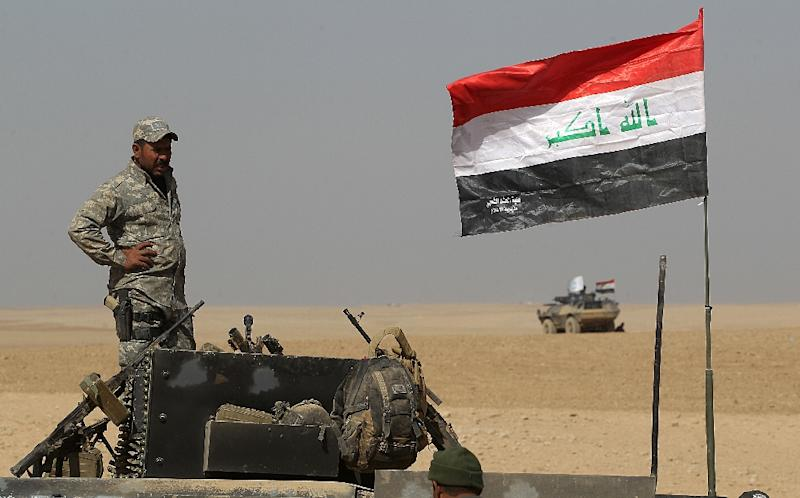 """A US official said it's important for Iraqi forces to lead the anti-ISIS operation in Mosul to ensure a """"lasting defeat"""" (AFP Photo/Ahmad Al-Rubaye)"""