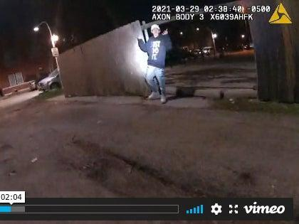 <p>Disturbing video footage shows the fatal police shooting of Adam Toledo, 13</p> (Chicago Civilian Office of Police Accountability)