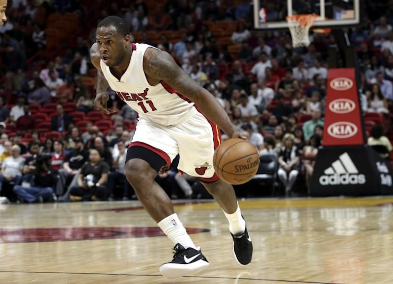 Dion Waiters proved valuable to the Heat this season. (AP)