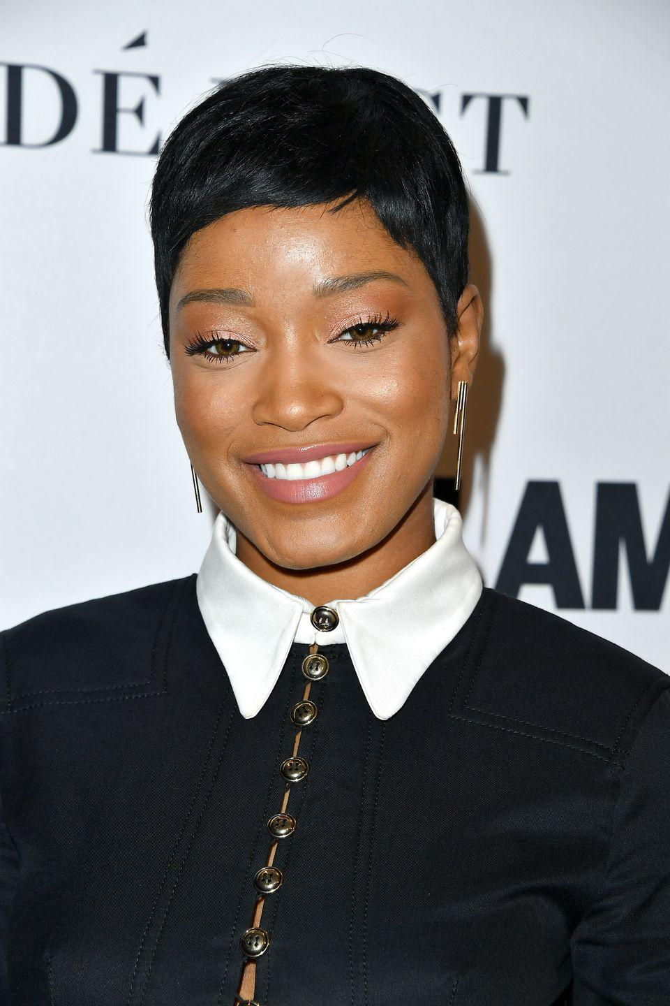 <p>Keke's super short pixie cut is majorly daring and oh so chic. She tries a new hairstyle basically every week, but this one def tops the list. </p>