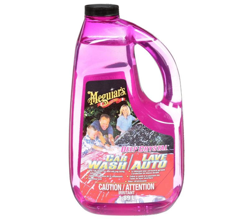 Meguiar's Car Wash Soap. Image via Amazon.