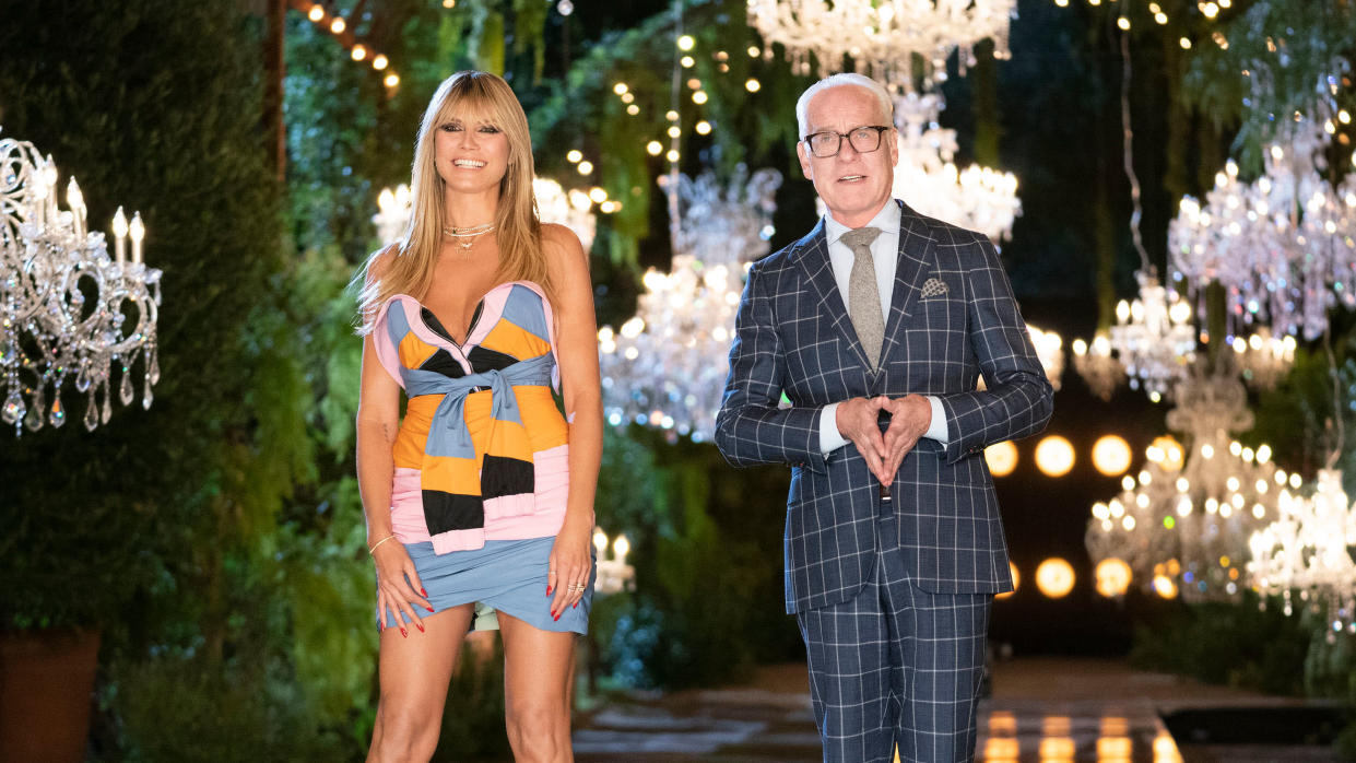 Fashion designers battle for supremacy in a series of challenges in 'Making the Cut'. (Ali Goldstein/Amazon)
