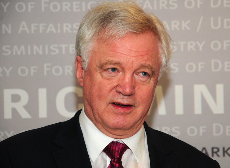 Brexit Secretary David Davis suggested there be a cut-off point for EU citizens applying for work in the UK (Rex)