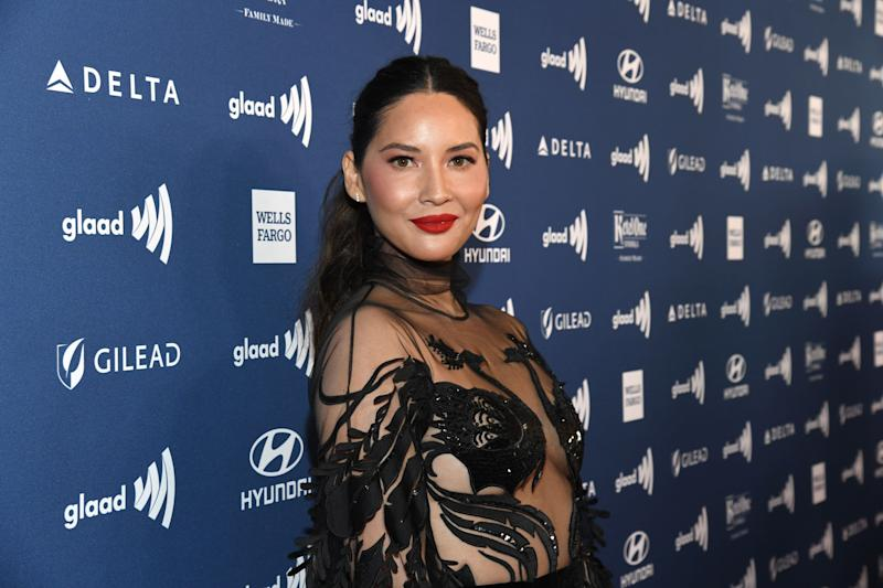Olivia Munn (Photo: Kevin Mazur/Getty Images for GLAAD)