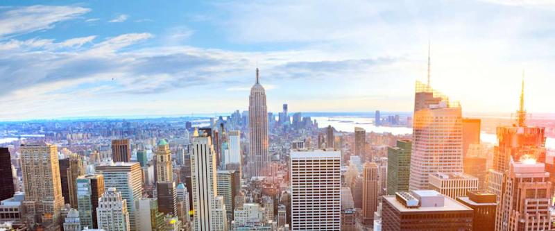 Manhattan is the perfect place to enjoy the hum and action of city life