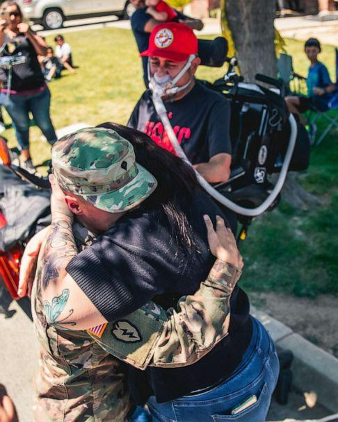 PHOTO: Jordan Salinas was deployed to Iraq three months before his father was diagnosed with ALS, where he has declined rapidly. (Joseph Facio Sr.)