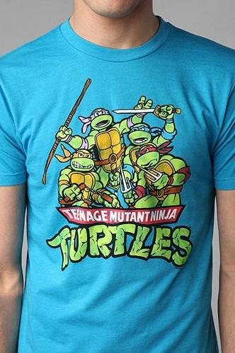 """<div class=""""caption-credit""""> Photo by: Urban Outfitters</div><div class=""""caption-title"""">Teenage Mutant Ninja Turtles Tee</div>The <i>Mutant Ninja Turtles</i> might be back for a new generation, but nothing will top the original classic, featured on this tee. <br> <a href=""""http://www.babble.com/kid/were-you-a-childhood-fashion-victim-11-things-i-thought-were-stylish-in-the-80s-and-90s/?cmp=ELP
