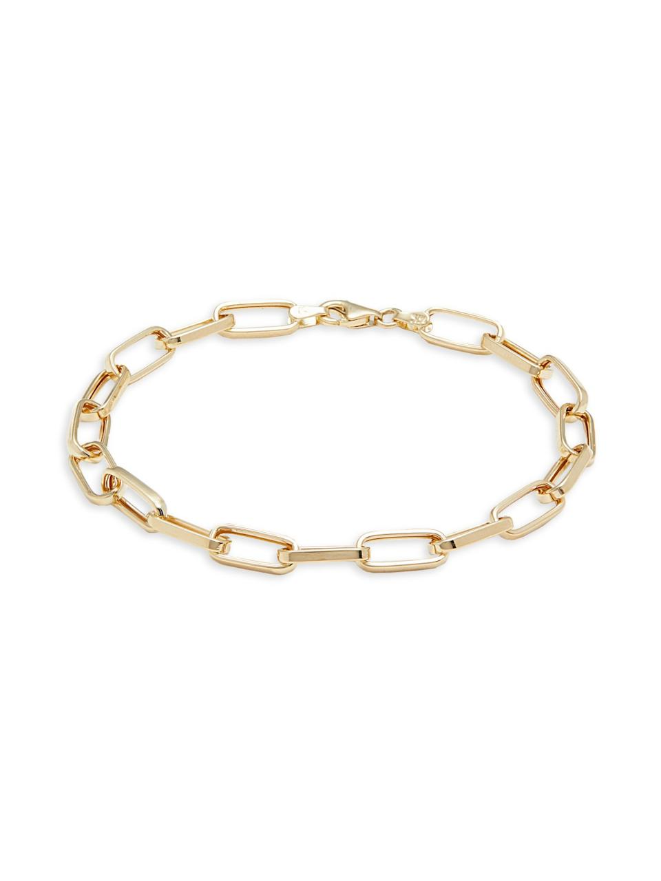 A photo of Sphera Milano paperclip bracelet from Saks Off 5th.