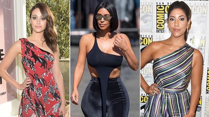The actresses open up about struggles with weight loss and eating disorders following the reality star's posts.