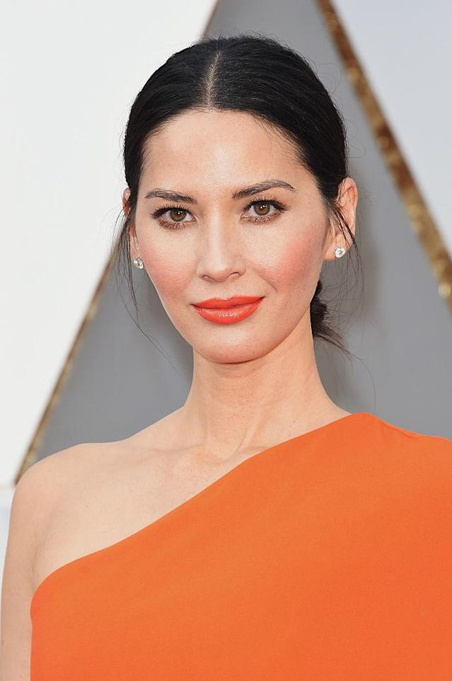 <p>Olivia Munn attends the 88th Annual Academy Awards at Hollywood & Highland Center on Feb. 28, 2016, in Hollywood. (Photo: Jason Merritt/Getty Images) </p>