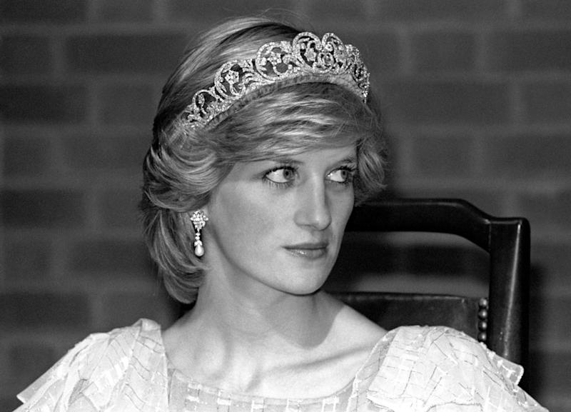Diana wearing the Spencer family Tiara in 1983 (PA Wire/PA Images)