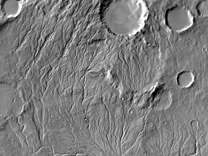 Valley Networks of Warrego Valles Image credit: NASA/JPL-Caltech/Arizona State University