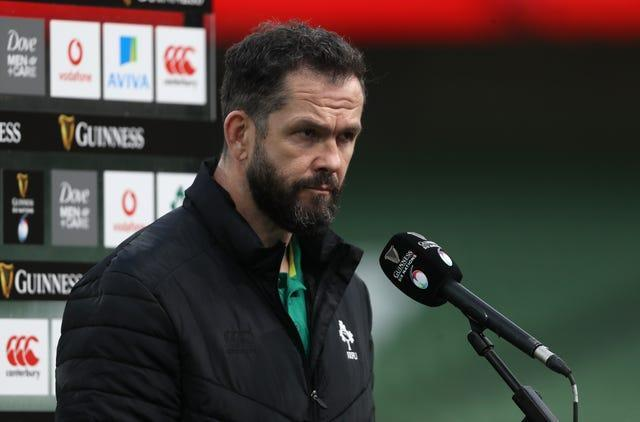 Andy Farrell discusses his side's defeat