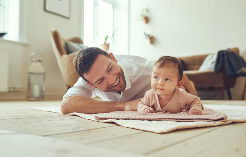 Less than a third of new dads are taking paternity leave [Photo: Getty]