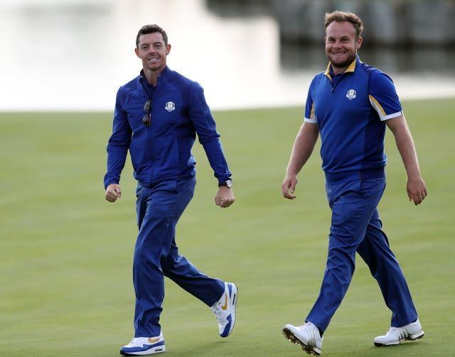 Rory McIlroy and Tyrrell Hatton