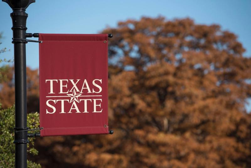 The transfer student lived on the Texas State University campus in San Marcos.  (Texas State University)