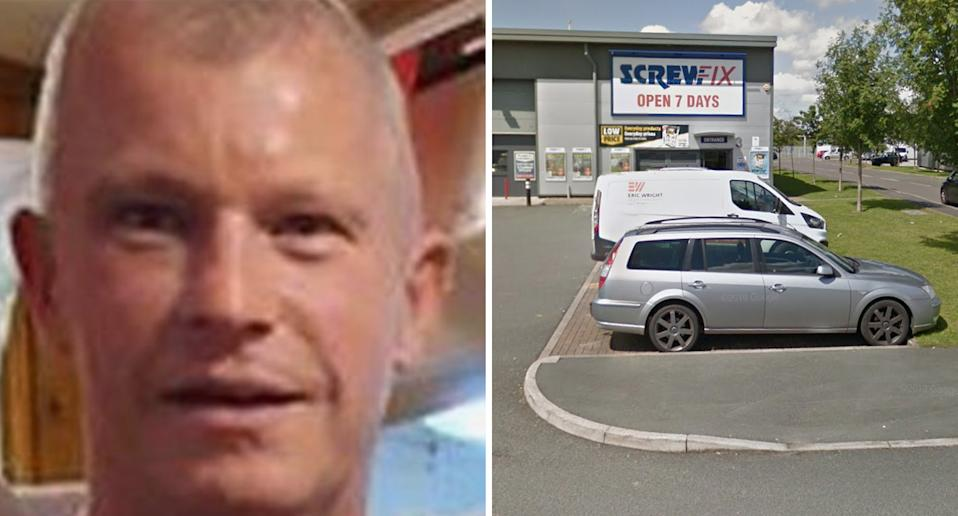 Staff at the Screwfix store would not confirm the altercation occurred after a dispute about queue jumping. Source: Google Maps
