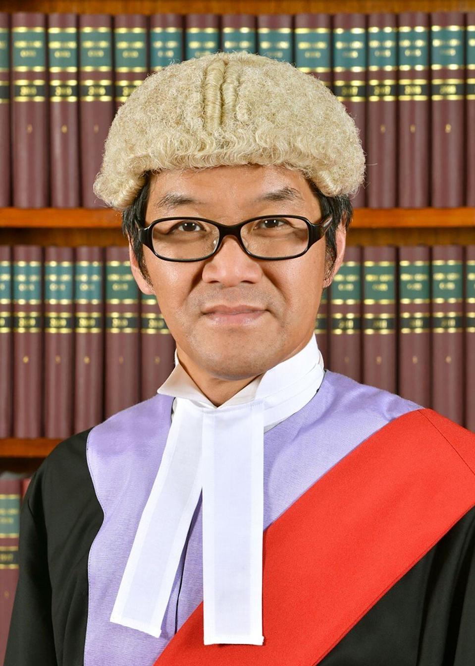 District Judge Kwok Wai-kin. Photo: Handout