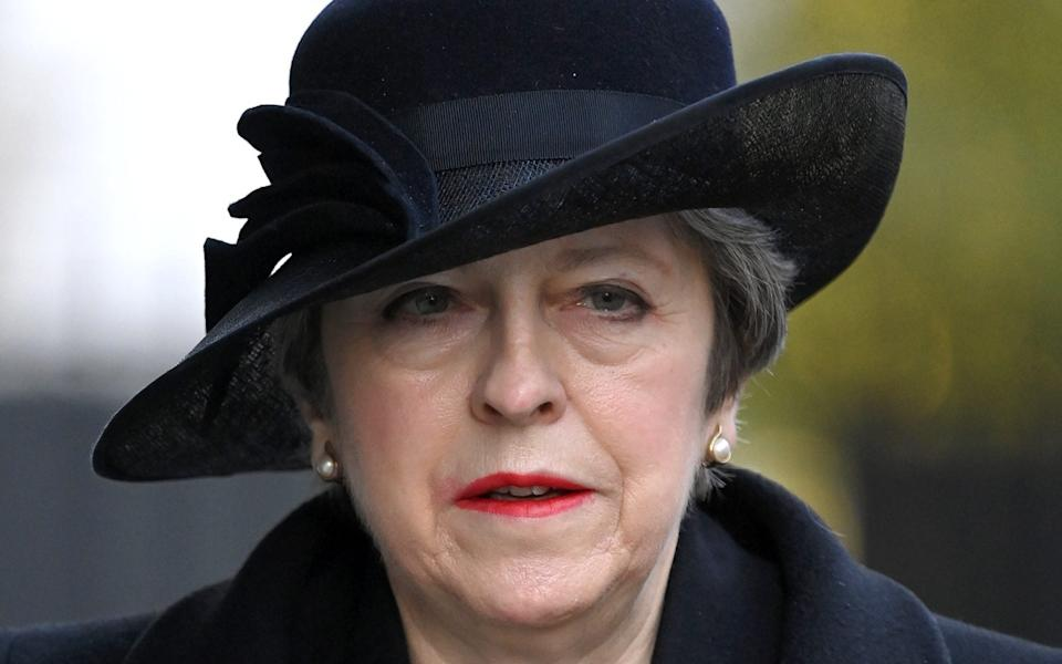 """Theresa May: """"What made this one different was the explicit and repeated threat to kill me"""". - WireImage"""