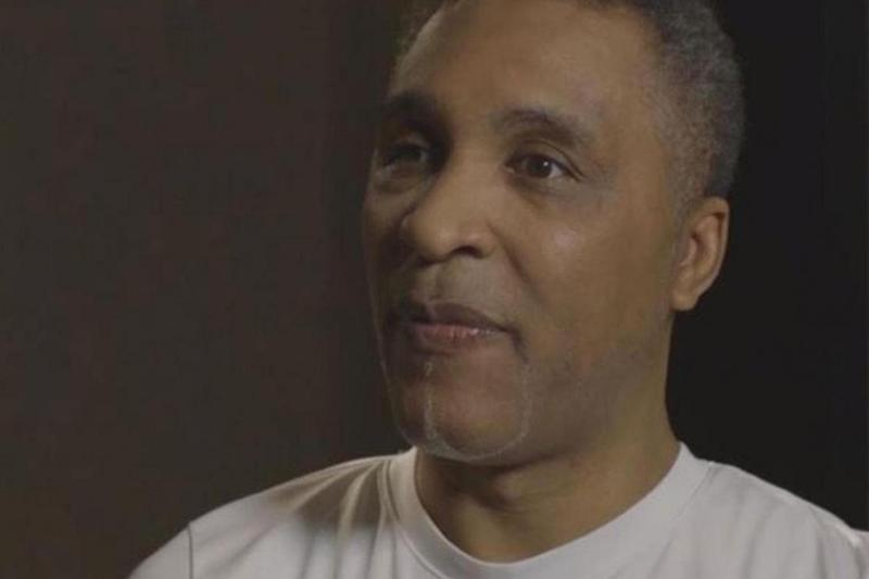 Former boxing champion Mr Watson speaks during an interview with BBC Crimewatch (BBC Crimewatch)