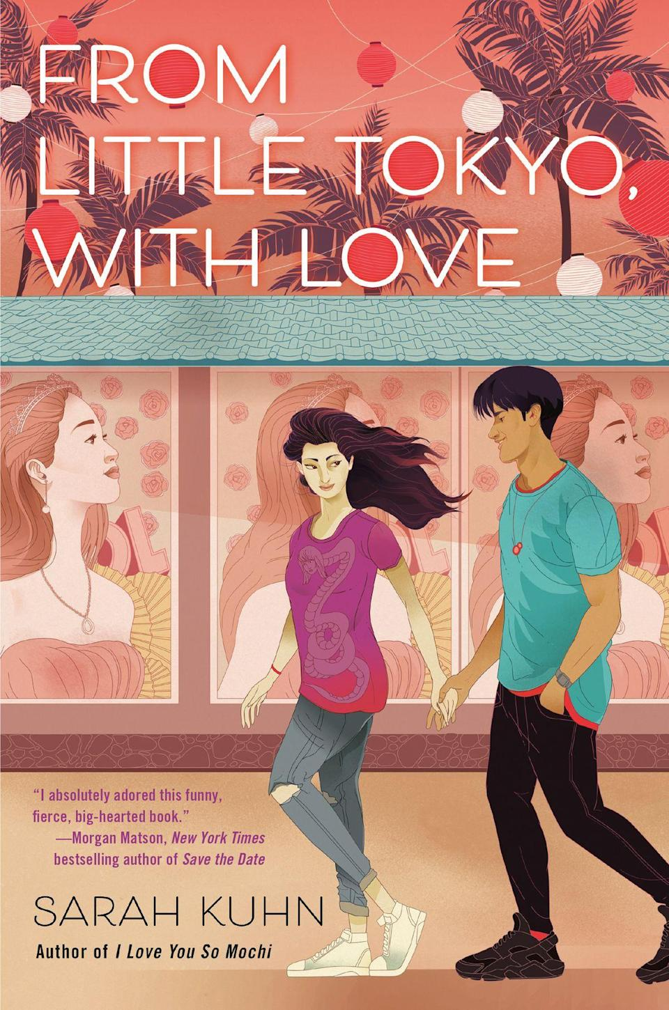 From Little Tokyo, With Love book cover by Sarah Kuhn