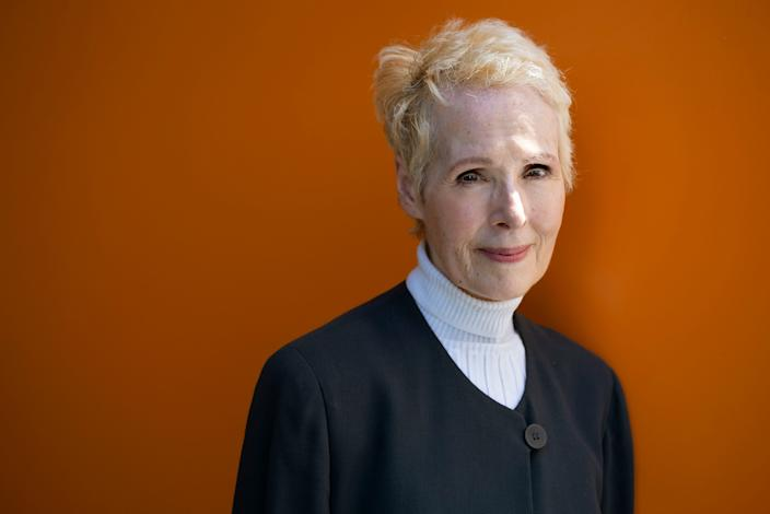 E. Jean Carroll says President Donald Trump sexually assaulted her in a New York department store in the mid-1990s. Trump says it never happened and denies even knowing Carroll.