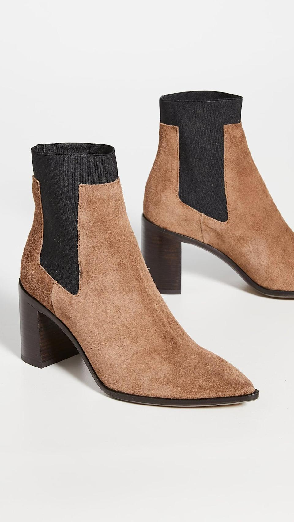 <p>These <span>Rag & Bone Brynn Booties</span> ($450, plus use code FALL20) look great with jeans.</p>