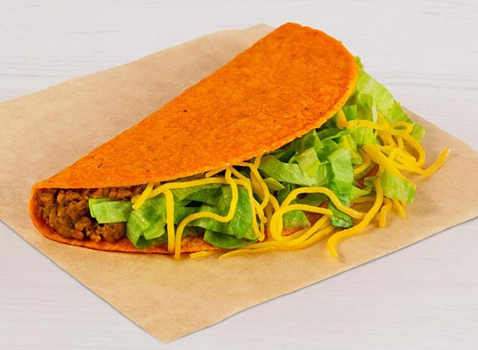 taco bell nacho cheese doritos locos taco best