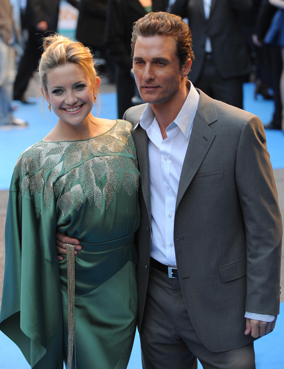Kate Hudson and Matthew McConaughey at London's Fool's Gold premiere in 2008.