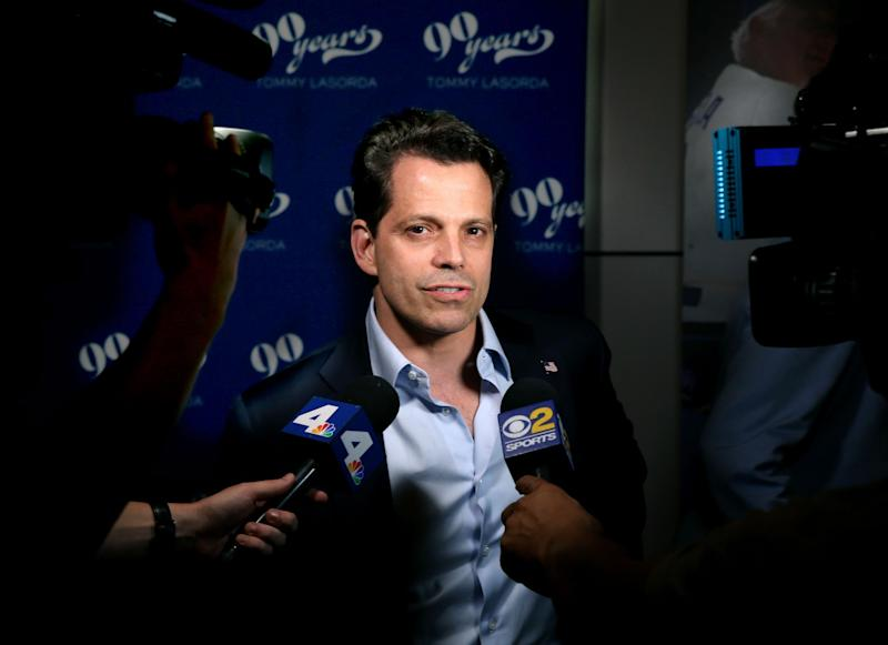 Mr Scaramucci is currently in the UK: Getty