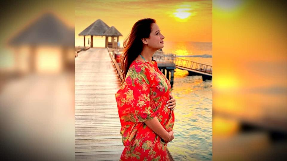 Dia Mirza announces pregnancy with a beautiful message
