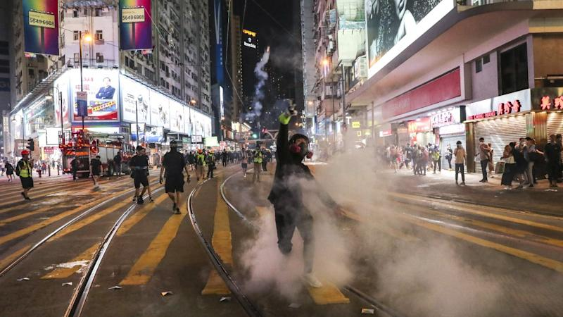 Is China's police chief playing a new part in Beijing's handling of Hong Kong?