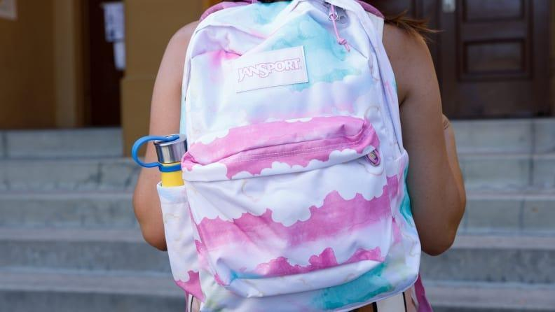 The JanSport SuperBreak Plus is durable and comes in a wide variety of colors and prints.