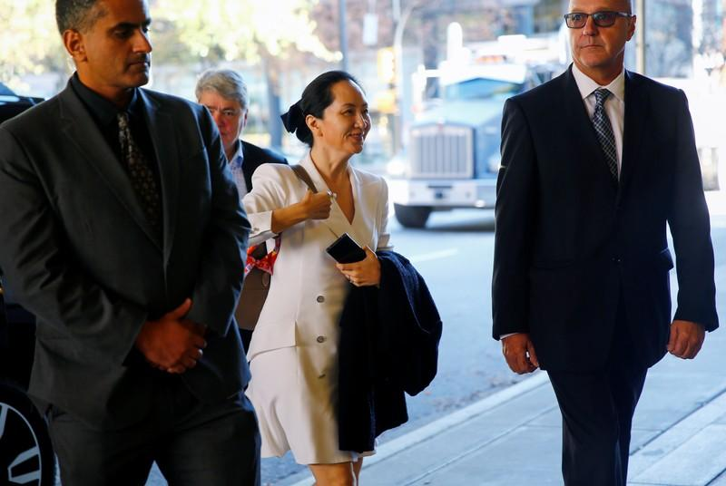 Huawei asks Canadian court to stay extradition process for CFO to United States