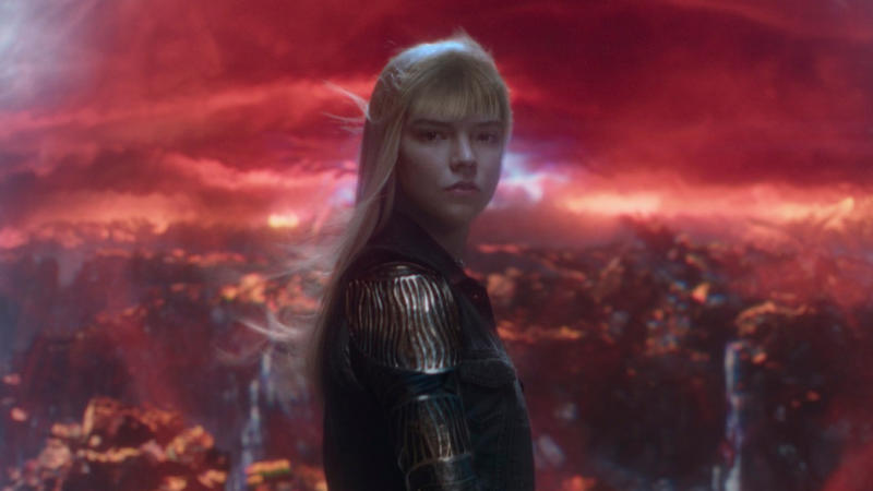 Anya Taylor-Joy as Illyana Rasputin in 'The New Mutants'. (Credit: 20th Century Studios)
