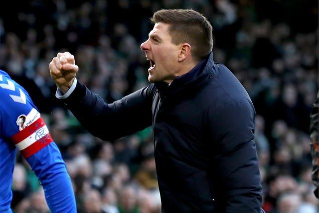 Rangers manager Steven Gerrard has lapped up seeing his team crowned champions